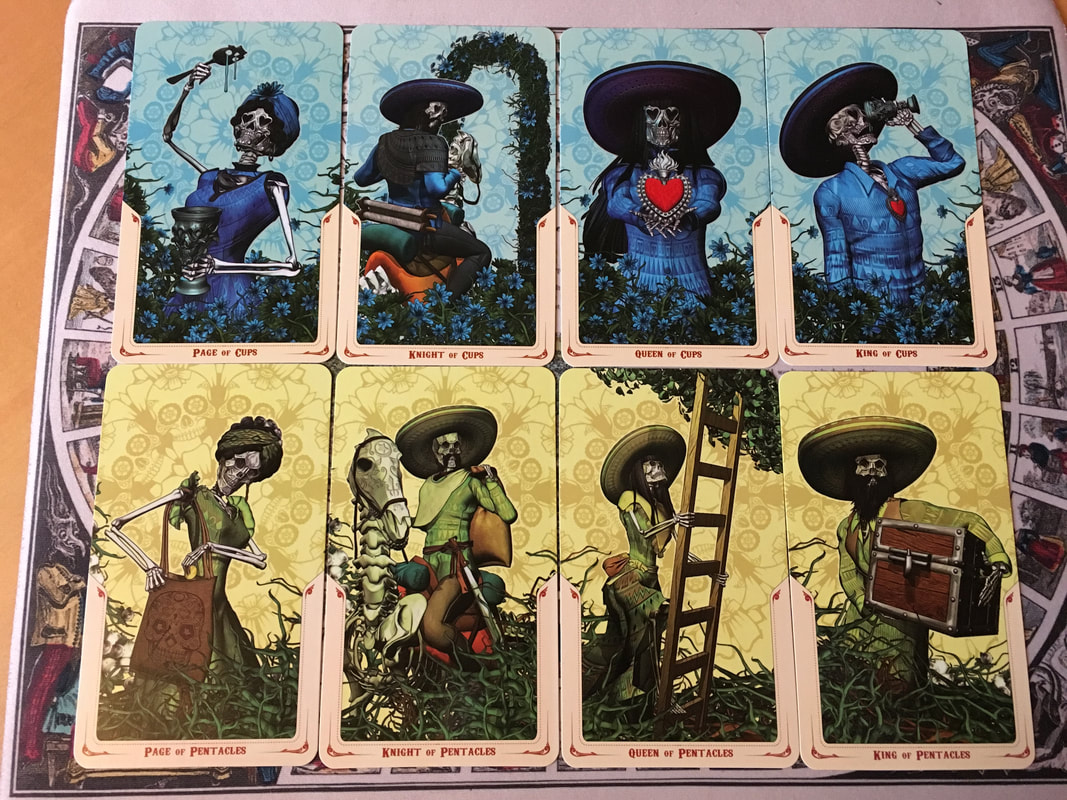 Review and Photos of Santa Muerte Tarot Limited Edition - Divine Muses